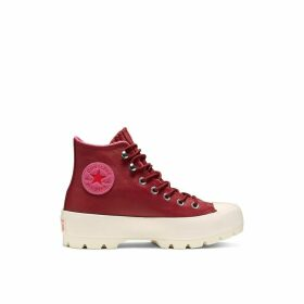Chuck Taylor All Star Lugged Winter Leather Hi Trainers