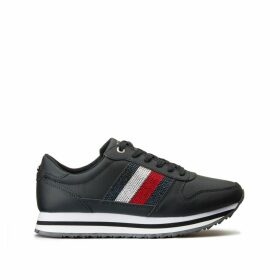 Tommy Retro Crystal Trainers