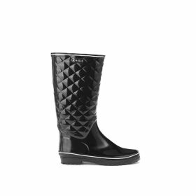 Venise Quilted Wellington Boots