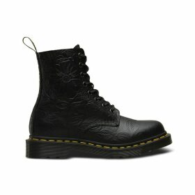 Pascal Emboss Leather Boots