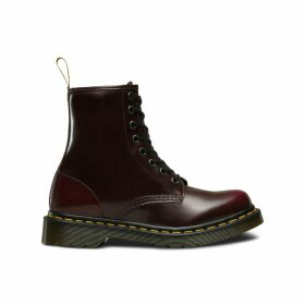 Vegan 1460 Lace-Up Boots in Faux Leather