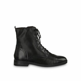 Aliya Lace-up Ankle Boots