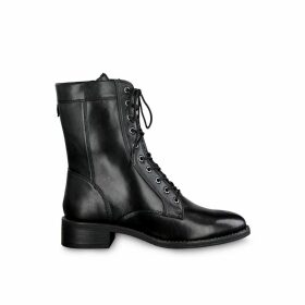 Manisa Leather Lace-up Boots