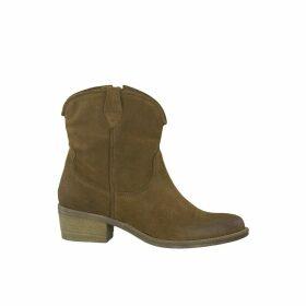 Glamo Leather Cowboy Boots