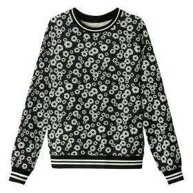 Vintage Floral Print Sweatshirt