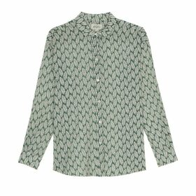 Printed Long-Sleeved Shirt