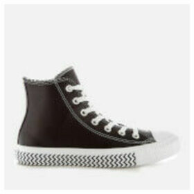 Converse Women's Chuck Taylor All Star Mission-V Hi-Top Trainers - Black/White/White - UK 8 - Black