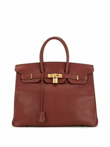 Hermès Pre-Owned Birkin 35 tote - Red