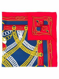 Hermès Pre-Owned SILK SCARF MAILLONS 70S - Red