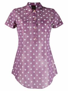 Jean Paul Gaultier Pre-Owned 1997 polka dot shirt - PURPLE
