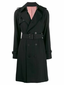 Jean Paul Gaultier Pre-Owned 2000s Belted trench coat - Black