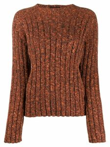 Jean Paul Gaultier Pre-Owned 1990s Knitted jumper - ORANGE