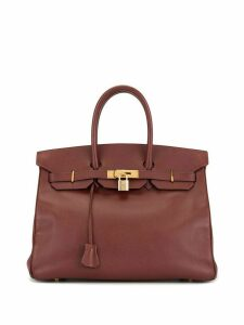 Hermès 1997 pre-owned Birkin 35 tote - Red