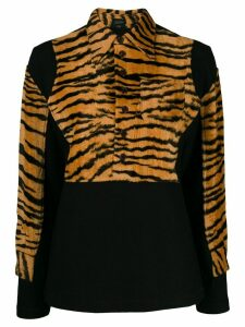 Jean Paul Gaultier Pre-Owned 1994 tiger print shirt - Brown