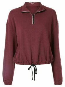 Beyond Yoga By Request cropped pullover - Red
