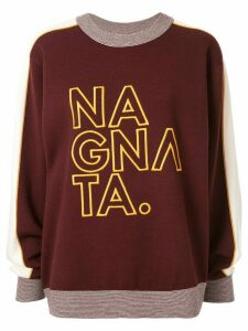 Nagnata embroidered logo jumper