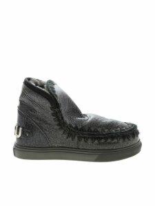 Mou Eskimo Sneaker Big Metal Logo Boots