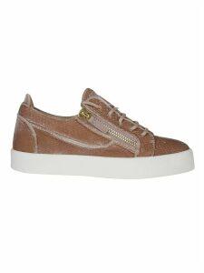 Giuseppe Zanotti Leather Zip Sneakers
