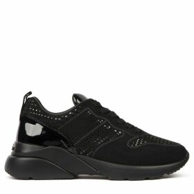 Hogan Active One Black Leather Sneaker