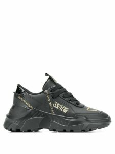 Versace Jeans Couture chunky sole sneakers - Black