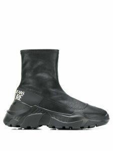 Versace Jeans Couture sneaker boots - Black