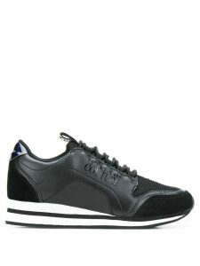 Versace Jeans Couture panelled sneakers - Black