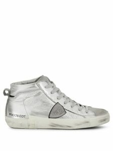 Philippe Model side logo sneakers - SILVER