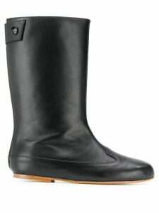 Courrèges flat boots - Black