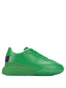 Stella McCartney Loop lace-up sneakers - Green