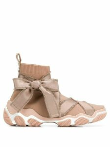 Red Valentino RED(V) Glam Run sneakers - Neutrals
