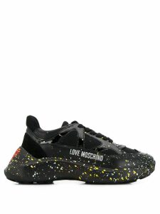 Love Moschino Heart sneakers - Black