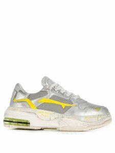 Premiata Draked chunky sneakers - SILVER
