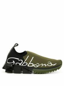 Dolce & Gabbana Sorrento logo sneakers - Green