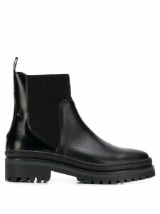 Tommy Hilfiger flat chelsea boots - Black