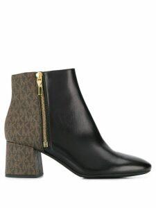Michael Michael Kors Alane colour-block ankle boots - Black