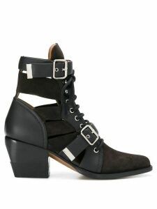 Chloé buckled ankle boots - Black