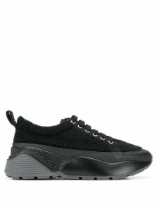 Stella McCartney curled low-top sneakers - Black