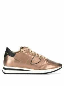 Philippe Model Trpx leather sneakers - Brown