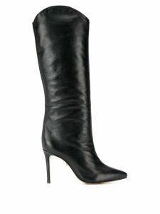 Schutz high-heel knee-length boots - Black