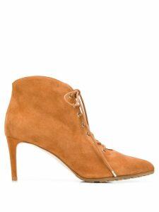 Chloe Gosselin Priyanka lace-up ankle boots - Brown
