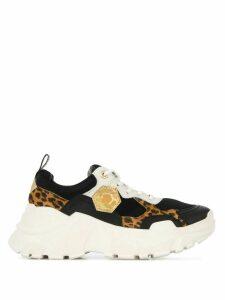 Moa Master Of Arts Super Futura leopard sneakers - Black