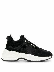 Tosca Blu two tone low top sneakers - Black
