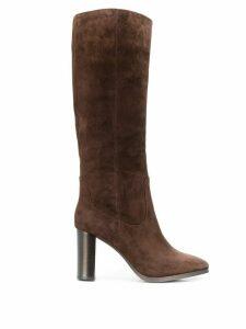 Lola Cruz knee-high boots - Brown