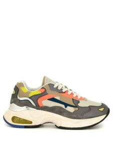 Premiata chunky sole sneakers - Multicolour
