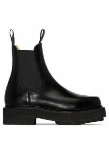 Eytys Ortega chunky Chelsea boots - Black