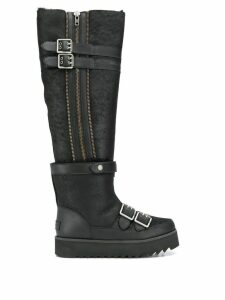 Ugg Australia knee-length biker boots - Black