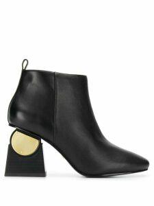 Kat Maconie Solange metallic-detail boots - Black