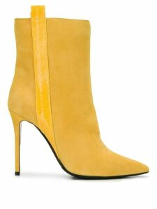 The Seller pull-on stiletto boots - Yellow