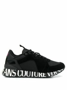 Versace Jeans Couture branded sole trainers - Black