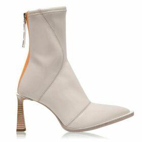 Fendi Patent Ankle Boots